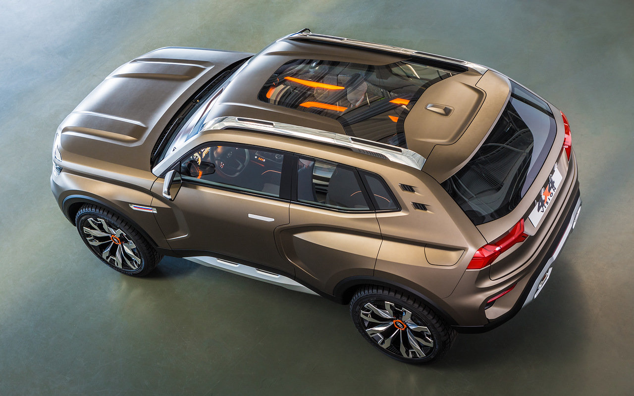 LADA presented 4 new models and showed the development of the design concept of the Brand